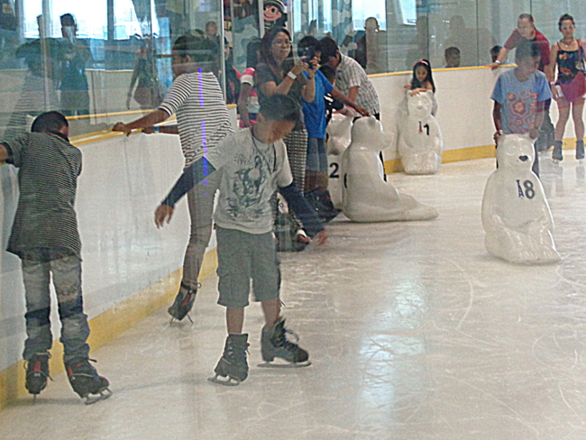 sm seaside cebu skating rink