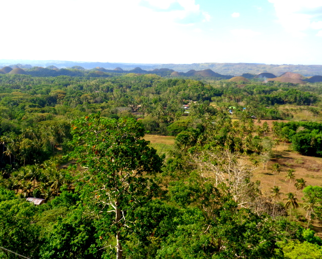 another look chocolate hills bohol
