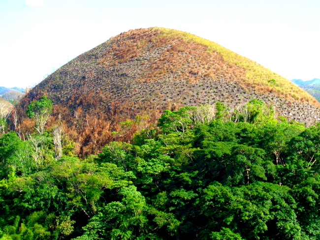 one of the chocolate hills bohol