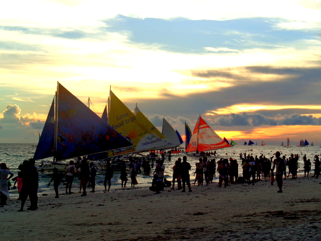 another beautiful sunset at boracay