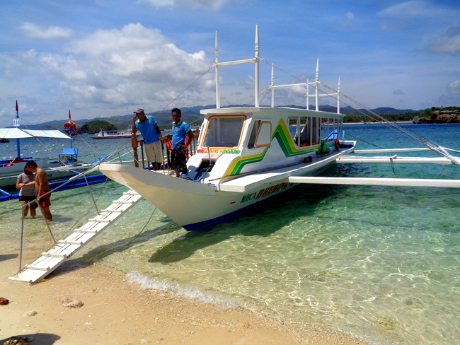 our tour craft from shingley tours boracay