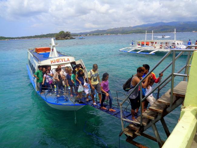pump boat to boracay