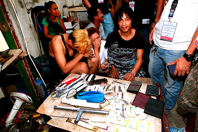 Our Parking Lot Attendants in Guimaras Arrested for Shabu Possession