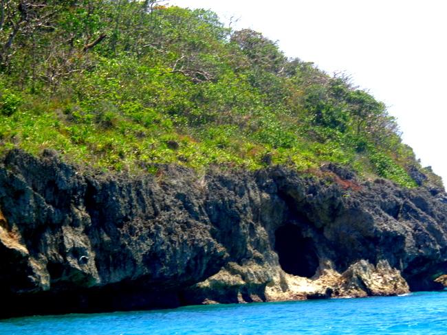 underwater cave in boracay