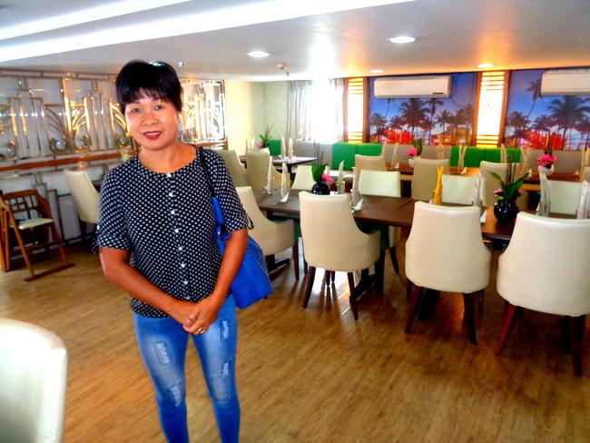 my lovely asawa at the horizon cafe 2go