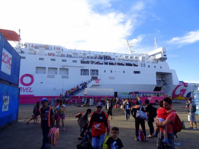 our arrival in iloilo