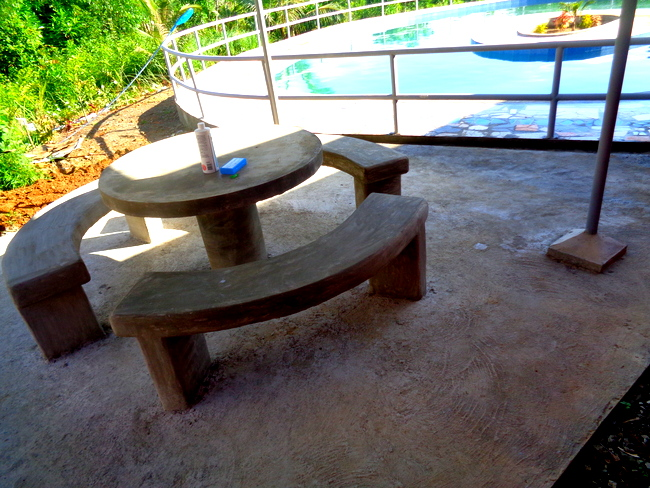 our concrete patio furniture in the philippines