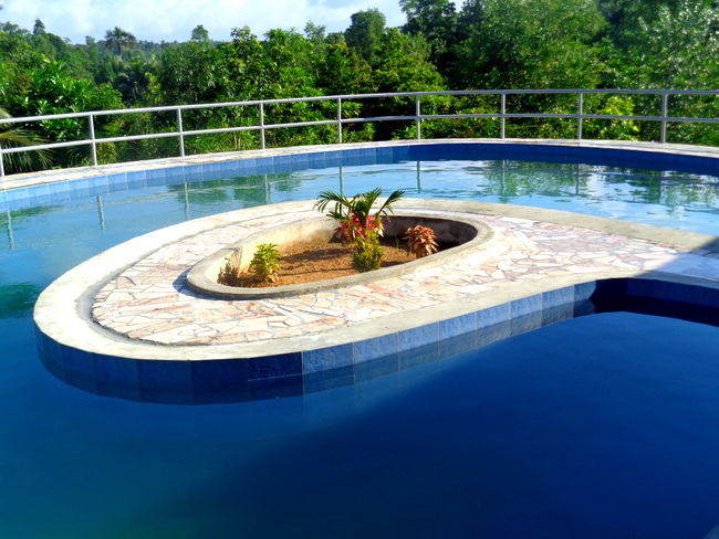 our new pool in the philippines