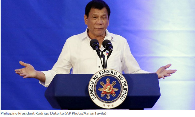 Duterte won't help Filipino illegals in US