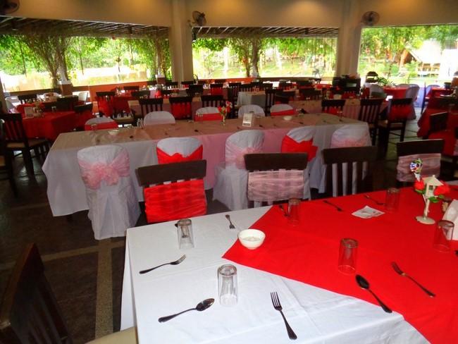 Valentines Day Mountain Resort Guimaras buffet