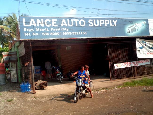 Lance Auto Supply Passi City