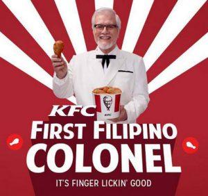 kfc first filipino colonel