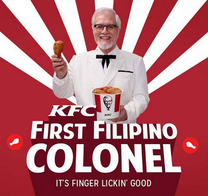 kfc first filipino colonel