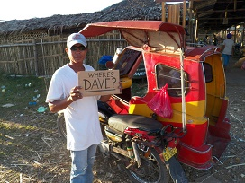 trike driver philippines - Philippines Pitfalls: Tricycle Sideswipes our Ford Ranger