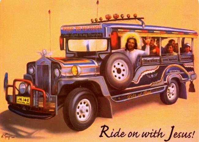 Would Jesus Ride Iloilo City Jeepneys?
