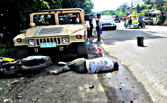 Panay News Miag ao crash kills American - American Expat Motorcyclist Killed in Iloilo Jeepney Crash