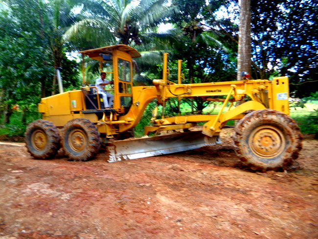 Road Grader Guimaras Philippines - Road Repaired! A Big Thanks to Guimaras Governor Gumarin