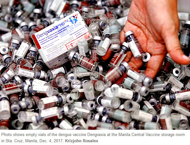 Dengvaxia banned in Philippines - Philippines Dengue Vaccine Fiasco Continues