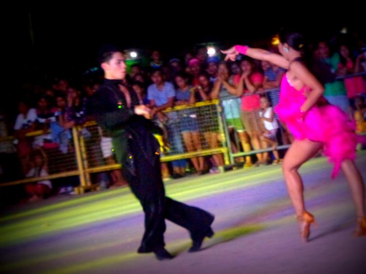 Lively Latin Dancers, Manggahan Festival Guimaras