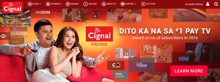 CIGNAL TV - Philippines: Cignal's Dreadful New Channels