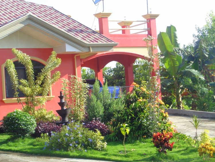 landscaping at our philippines home - Grand Guimaras Garden Reflections