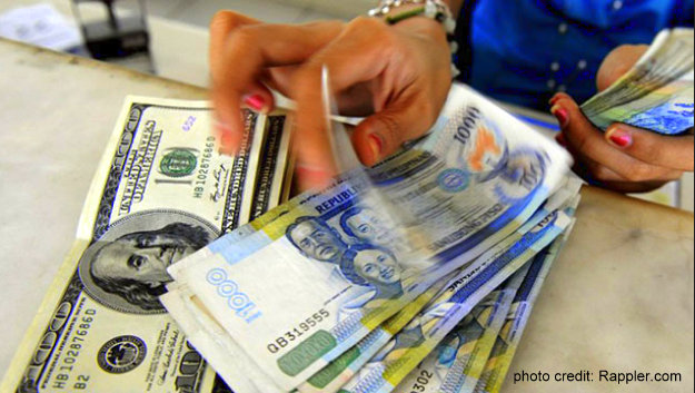philippine peso keeps falling - Philippine Peso Likely to Hit P54:$1 by year-end