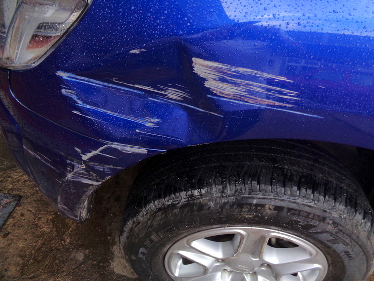 Truck Driver Hits Our Ford Ranger