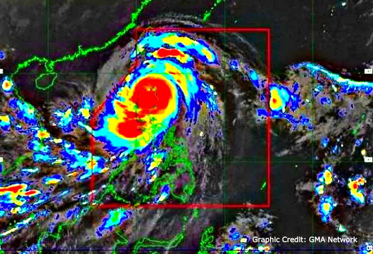 Gutsy Guimaras Guests brave storm - Gutsy Guimaras Guests Attend Typhoon Ompong Pool Party