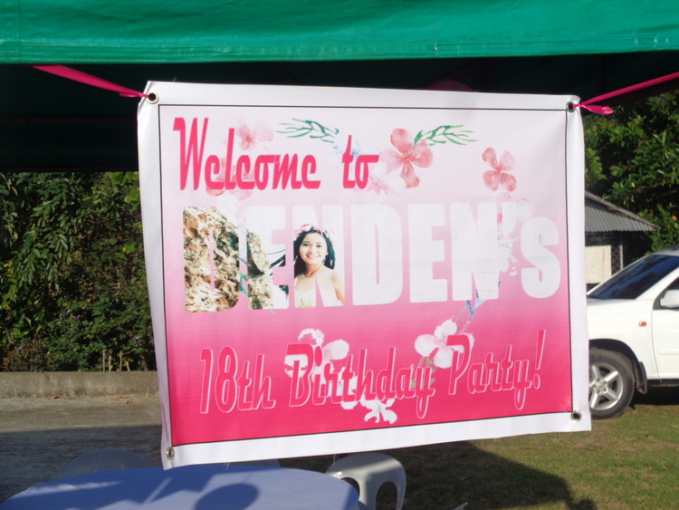 DenDen's 18 Candles Celebration Preparation