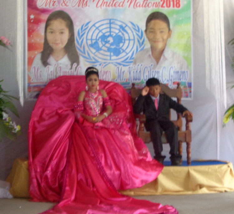 Guimaras Central School Mr & Ms United Nations