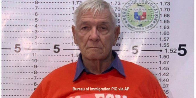 American priest accused of sexually assaulting altar boys arrested in the Philippines Fox News 2 668x334 - American Priest Wanted for 50 Altar Boy Sexual Assaults Arrested in Philippines