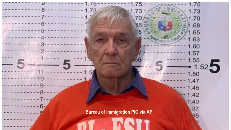 American Priest Wanted for 50 Altar Boy Sexual Assaults Arrested in Philippines