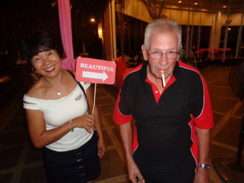 My lovely wife and Peter hamming it up 480x360 - 2018 Fallen Expats of Guimaras