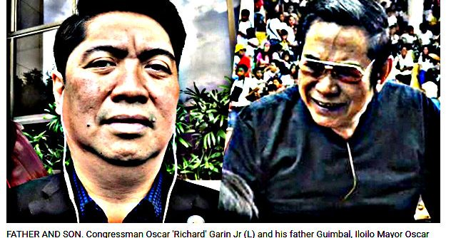 PNP to sue Iloilo mayor congressman Garin for mauling cop 632x334 - Mayor & Congressman-Son Thrash Iloilo Cop