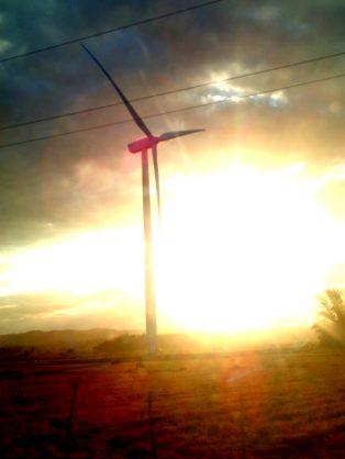 Striking San Lorenzo Guimaras Windmills