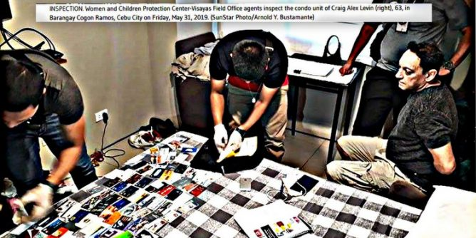 American arrested Cebu City 668x334 - Depraved American 'Pedophile' Arrested in Cebu City