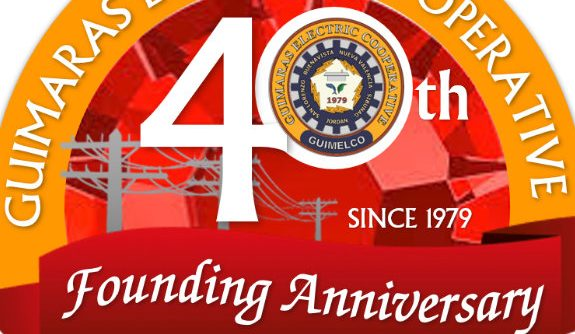 Guimaras Electric Cooperative Inc. 40 years 575x334 - Record Low Guimaras Guimelco Brownouts