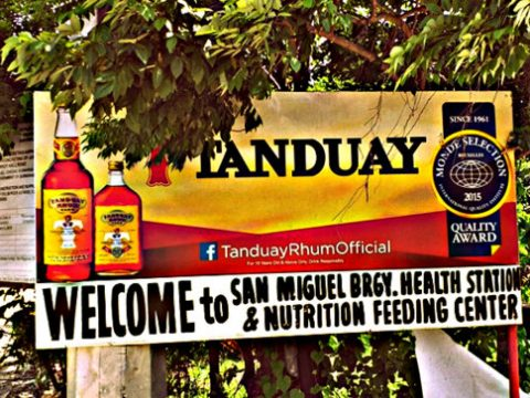 Tanduay Rhum and the Guimaras Health Station 480x360 - Tanduay Rhum & Guimaras Health Station