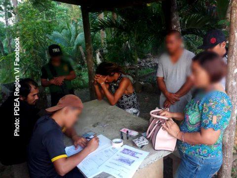 PDEA Region VI Western Visayas 2 480x360 - 2 Guimaras Drug Suspects Selling Weed Arrested