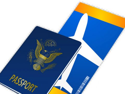 Passport Ticket Travel Free vector graphic on Pixabay 480x360 - Bureau of Immigration Bans Personnel from NAIA