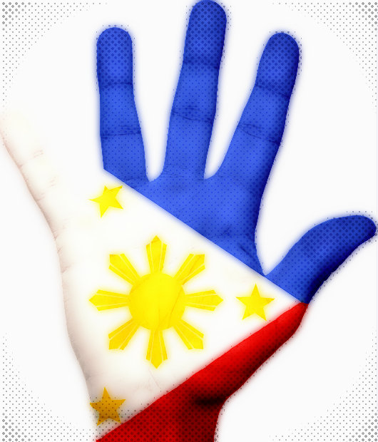 Philippines Flag Hand Free image on Pixabay  - BI Commissioner Warns Foreigners