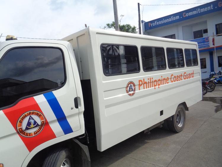 Philippine Coast Guard at Jordan Wharf Guimaras - Passenger Delays Persist on Guimaras-Iloilo Route