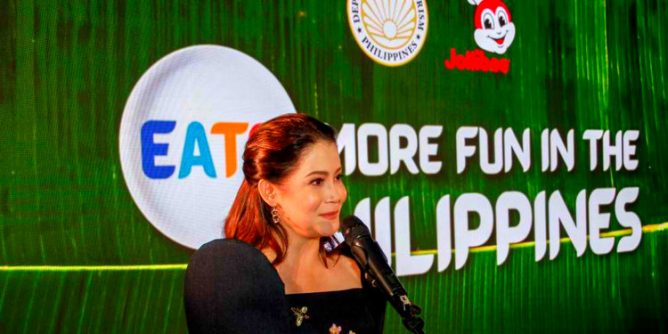 """DOT Jollibee launch food tourism campaign with Eats. More Fun in the Philippines 668x334 - Food Tourism Drive """"Eats. More Fun in the Philippines"""""""