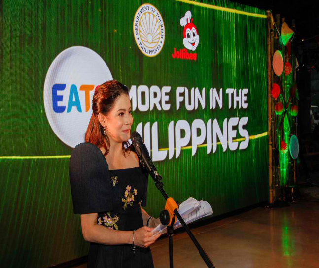 """Jollibee and the Philippine Dept of Tourism - Food Tourism Drive """"Eats. More Fun in the Philippines"""""""